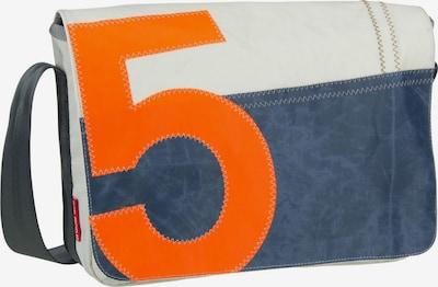 360 Grad Umhängetasche in blau / orange / weiß, Produktansicht