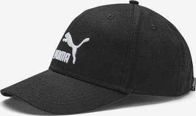 PUMA Baseballcap 'Classics Archive' in schwarz / weiß, Produktansicht