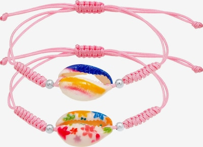 ELLI Armband Set Muschel in rosa, Produktansicht