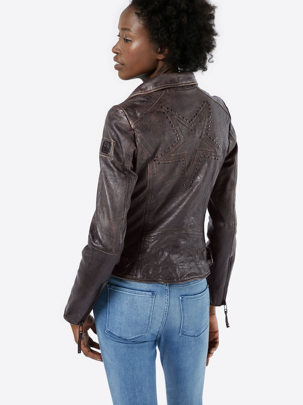 FREAKY NATION Lederjacke 'Magic Star 1'