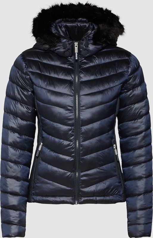 Superdry Jacke 'HOODED LUXE CHEVRON FUJI' in nachtblau  Freizeit, Freizeit, Freizeit, schlank, schlank 8f63a1