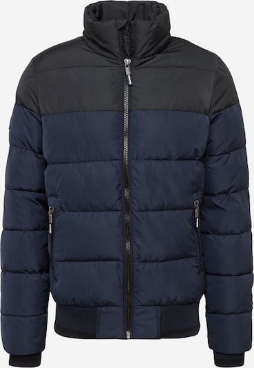 Superdry Winterjas 'TRACK SPORTS PUFFER' in de kleur Navy, Productweergave