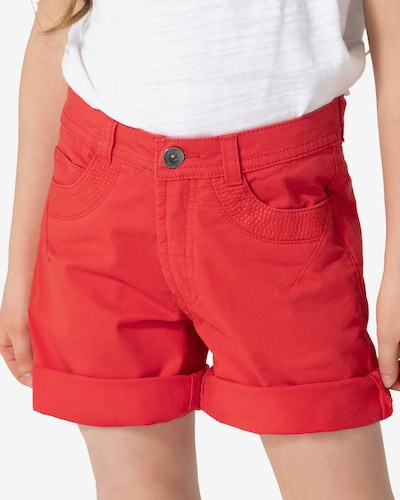myToys-COLLECTION Chinoshorts in feuerrot: Frontalansicht