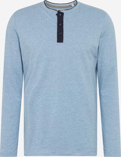 ESPRIT Koszulka w kolorze podpalany niebieski / ciemny niebieskim: Widok z przodu
