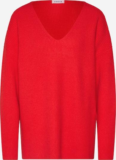 EDITED Pullover 'Akira' in rot, Produktansicht
