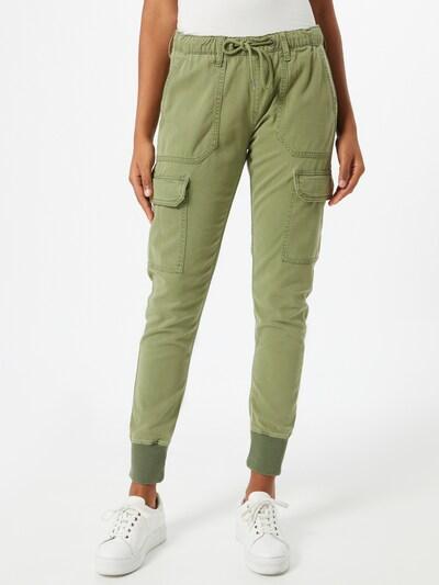 olíva Pepe Jeans Cargo nadrágok 'Crusade', Modell nézet