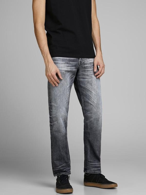 JACK & JONES Jeans 'JOS 725' in grey denim, Modelansicht