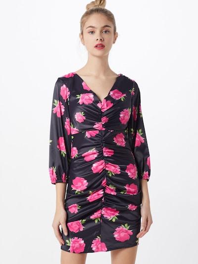IVYREVEL Kleid 'FLORAL' in pink / schwarz, Modelansicht