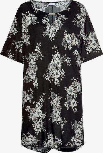 LASCANA Majica | črna / bela barva, Prikaz izdelka