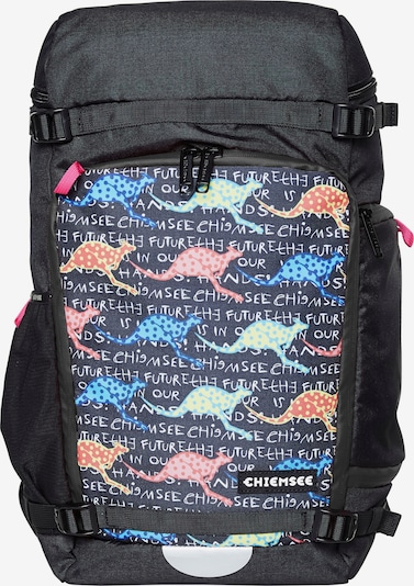 CHIEMSEE Sac à dos de sport en mélange de couleurs / noir, Vue avec produit