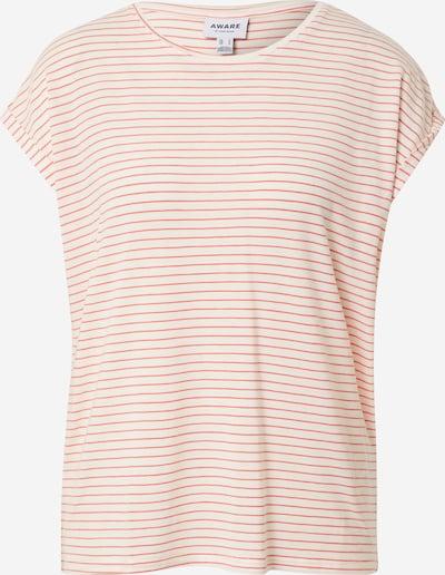 VERO MODA T-shirt 'VMAVA' en rouge / blanc, Vue avec produit