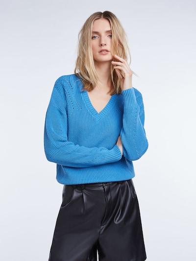 SET Pullover in blau, Modelansicht