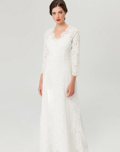 IVY & OAK Kleid 'Flared Lace' in weiß, Modelansicht