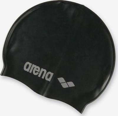 ARENA Badekappe 'Classic' in grau / schwarz, Produktansicht