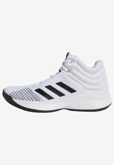 ADIDAS PERFORMANCE Sportschuh 'Pro Spark 2018' in schwarz / weiß, Produktansicht