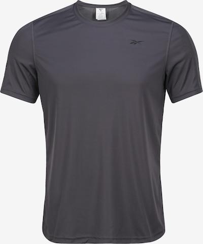 REEBOK T-Shirt in dunkelgrau, Produktansicht