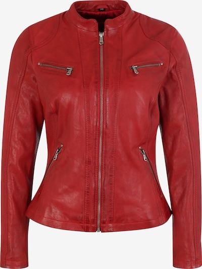 7ELEVEN Lederjacke 'RUBY' in rot, Produktansicht