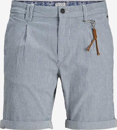 Pantaloni cutați 'Milton AKM 935' JACK & JONES pe albastru / alb, Vizualizare produs