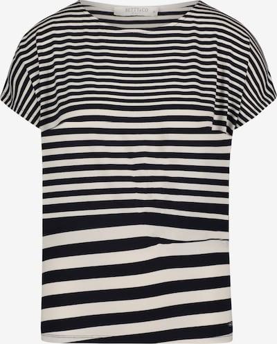 Betty & Co Shirt in schwarz / weiß: Frontalansicht