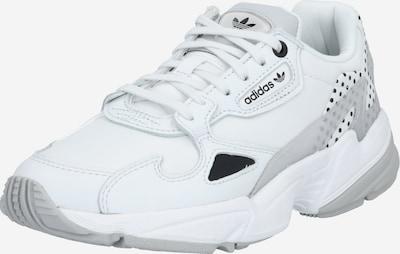 világosszürke / fekete / fehér ADIDAS ORIGINALS Rövid szárú edzőcipők, Termék nézet