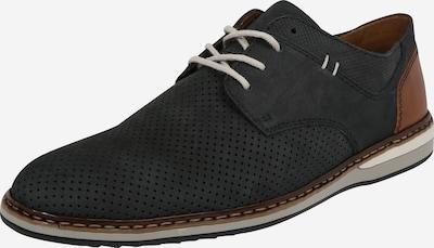 RIEKER Šnurovacie topánky - tmavomodrá / hnedá, Produkt