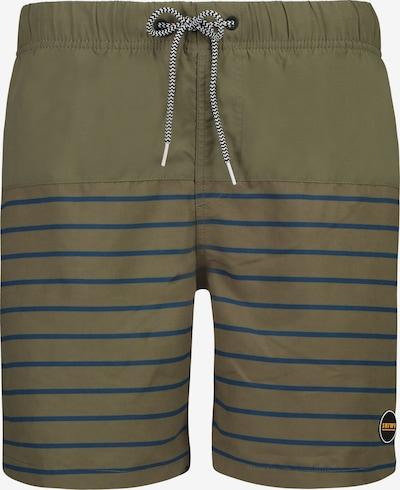 Shiwi Plavecké šortky - modrá / kaki / biela, Produkt
