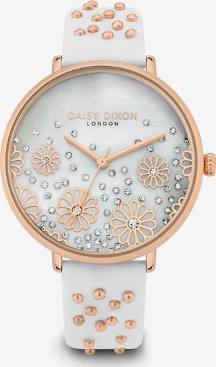 DAISY DIXON Uhr in rosegold / weiß, Produktansicht