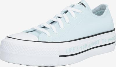 CONVERSE Sneakers laag 'Renew Canvas – Chuck Taylor Ox' in de kleur Lichtblauw / Zwart / Wit, Productweergave