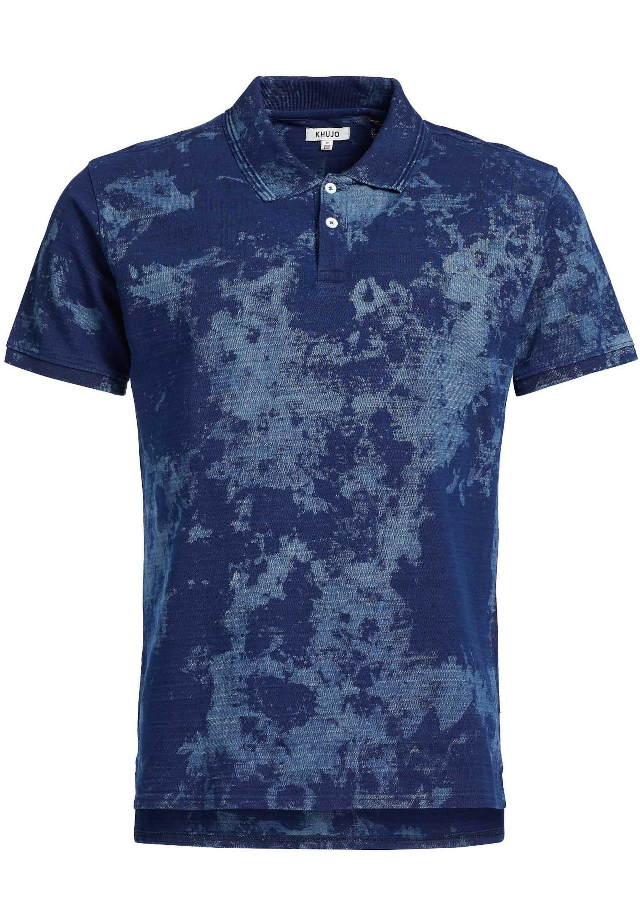shirt T 'octave' En Khujo RauchblauSaphir Tc3F1lKJ