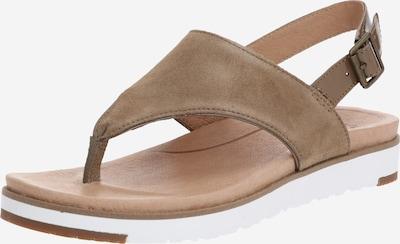 Flip-flops 'ALESSIA' UGG pe coniac / alb, Vizualizare produs