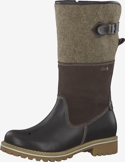 TAMARIS Stiefel in umbra / mokka / braunmeliert, Produktansicht