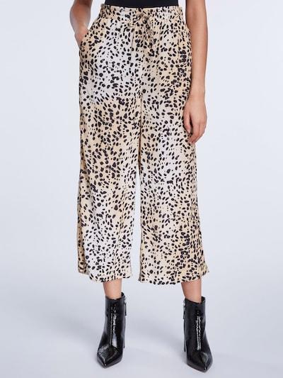 SET Kalhoty - béžová / černá, Model/ka