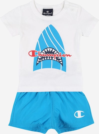 Champion Authentic Athletic Apparel Set - biela: Pohľad spredu