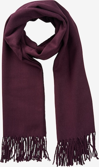 JACK & JONES Sjaal 'JACSOLID' in de kleur Bordeaux, Productweergave