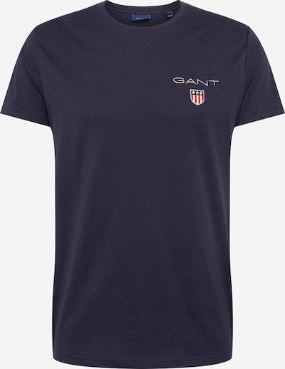 Tricou 'Medium Shield' GANT pe albastru închis / roșu, Vizualizare produs