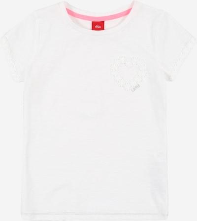 s.Oliver T-Shirt in weiß: Frontalansicht