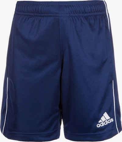 ADIDAS PERFORMANCE Trainingsshorts 'Core 18 TR' in navy / weiß, Produktansicht