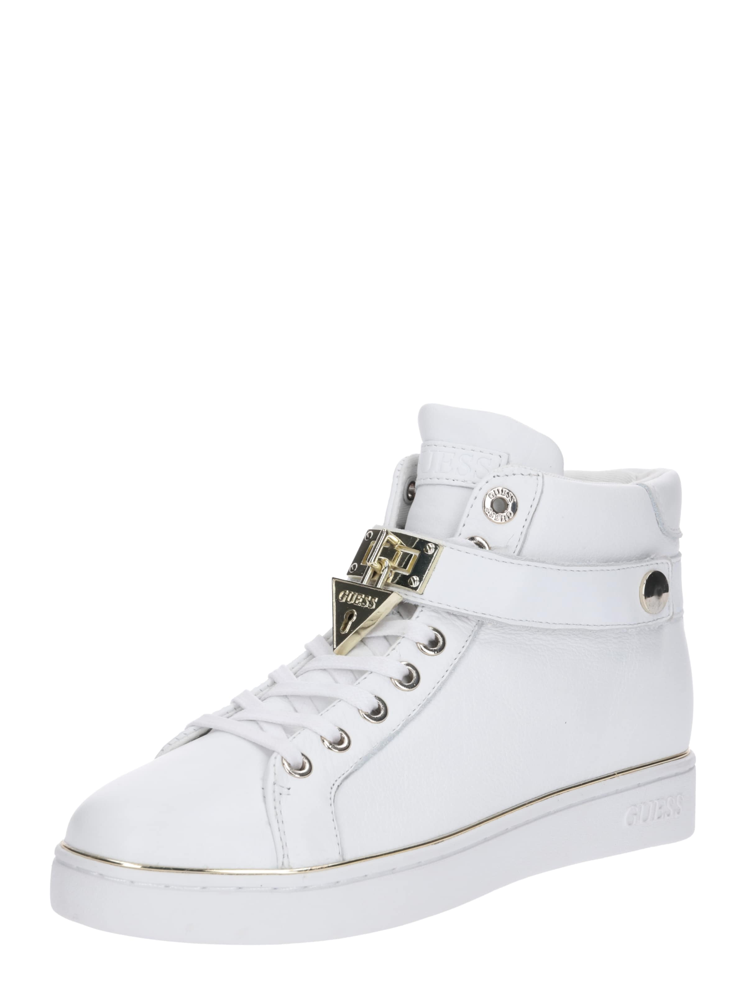Guess 'boxing' In Weiß Weiß Guess Guess Sneaker Sneaker In 'boxing' nOP0wk8