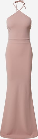 Missguided Kleid 'HALTER FISHTAIL MAXI DRESS' in rosa, Produktansicht