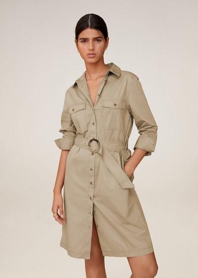 MANGO Kleid 'Seul' in beige / hellbraun, Modelansicht