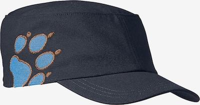 JACK WOLFSKIN Cap 'Companero' in blau: Frontalansicht
