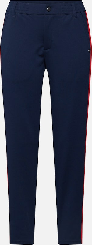 TOM TAILOR DENIM Hose 'Athletic knitted track pants' in navy, Produktansicht