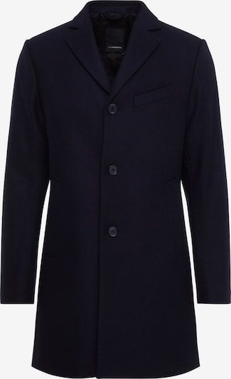 J.Lindeberg 'Wolger Compact Melton' Mantel in dunkelblau, Produktansicht