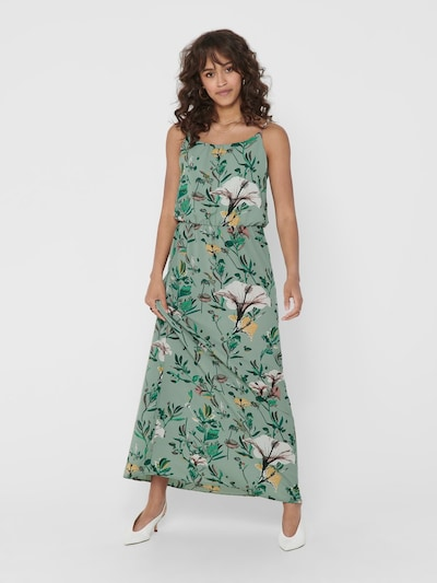 ONLY Summer dress 'onlWINNER' in Light green / Pink, View model