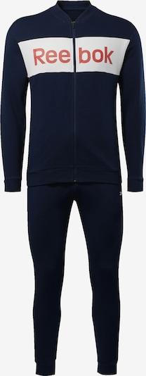 REEBOK Trainingsanzug in nachtblau / rot / weiß, Produktansicht