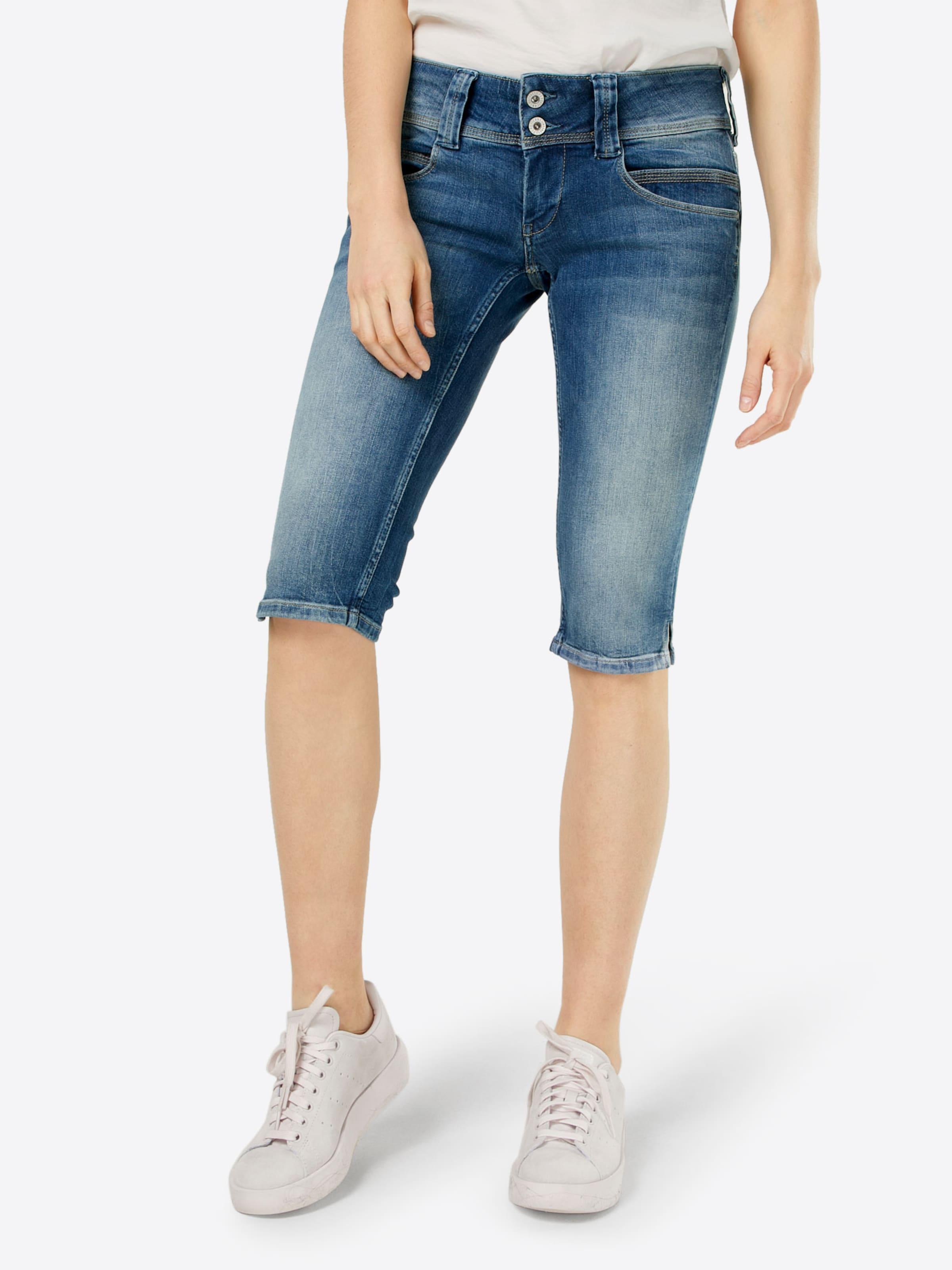 Pepe Jeans Caprijeans Jeans 'Venus' Pepe Bleached xnFZwxar