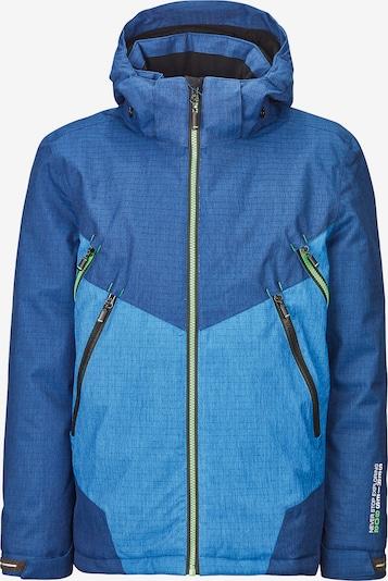 KILLTEC Skijacke 'Talaro' in blau / hellblau, Produktansicht