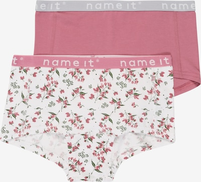 NAME IT Onderbroek 'NKFHIPSTER 2P WE HEATHER ROSE AOP NOOS' in de kleur Rosé, Productweergave