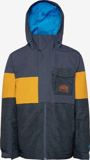 PROTEST Jacke 'Randal' in marine / dunkelblau / gelb, Produktansicht