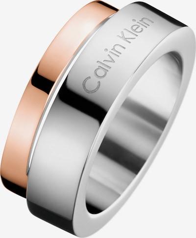 Calvin Klein Ring in rosa / silber, Produktansicht